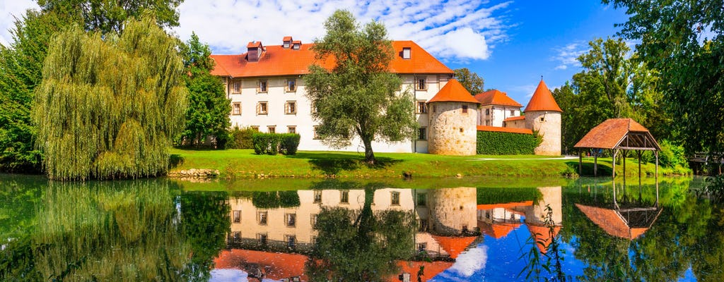 Land of Hayrack and open-air museum from the Slovenian Coast