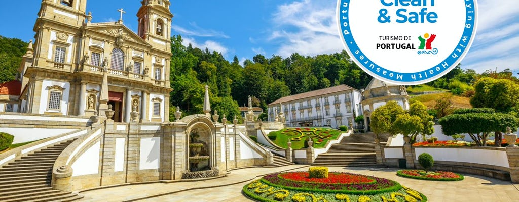Tour privado com dia completo em Braga e Guimarães saindo de Porto