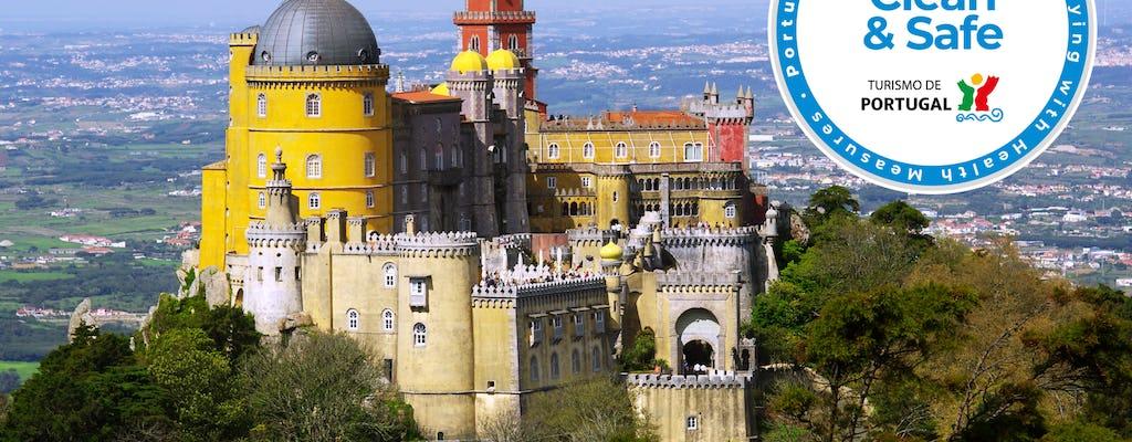 Visita al Palacio de la Pena, Cascais y la costa de Estoril