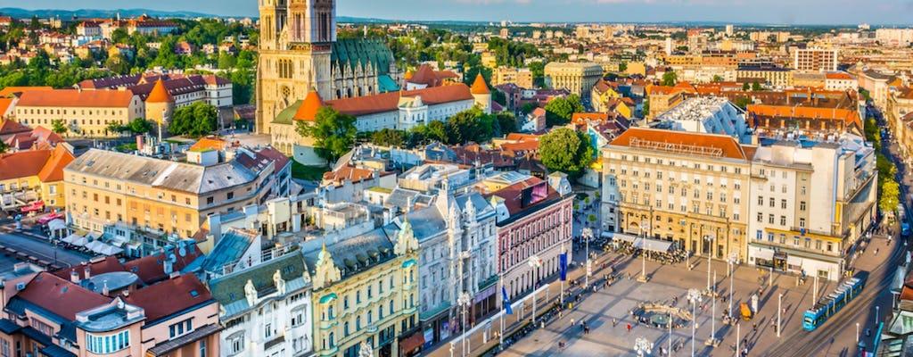 Excursão privada pela capital croata de Zagreb saindo de Bled