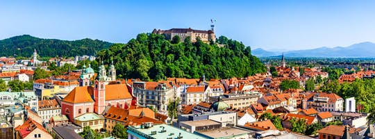 Tour por la ciudad de Ljubljana y castillo desde la costa