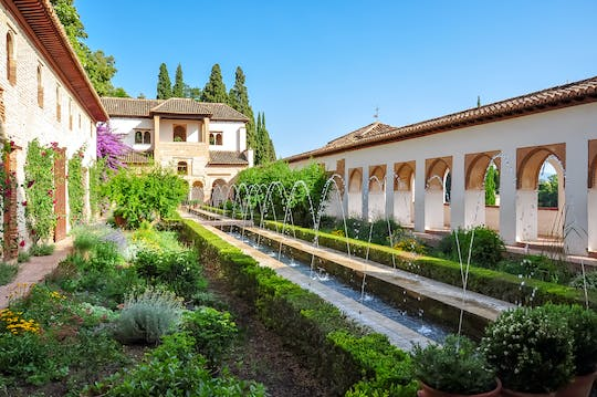 Alhambra gardens, Generalife and Alcazaba skip-the-line tickets