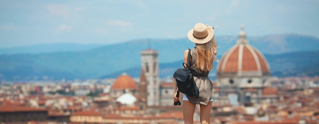 Tour a piedi hop-on hop-off di Firenze