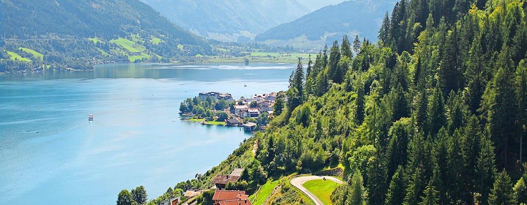 Visite privée d'une journée à Zell am See et Kitzsteinhorn au départ de Salzbourg