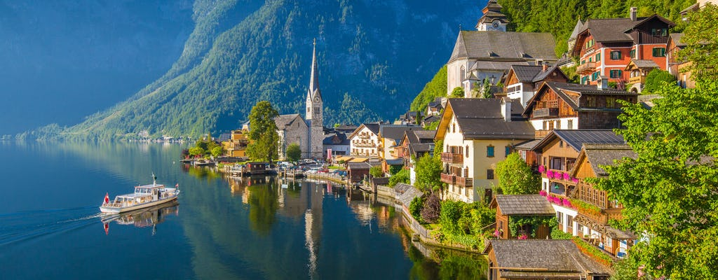 Salzburg private full-day Sound of Music tour with Hallstatt visit