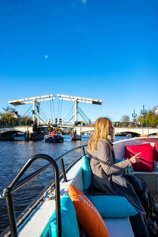 Уютная и веселая экскурсия по каналам Амстердама