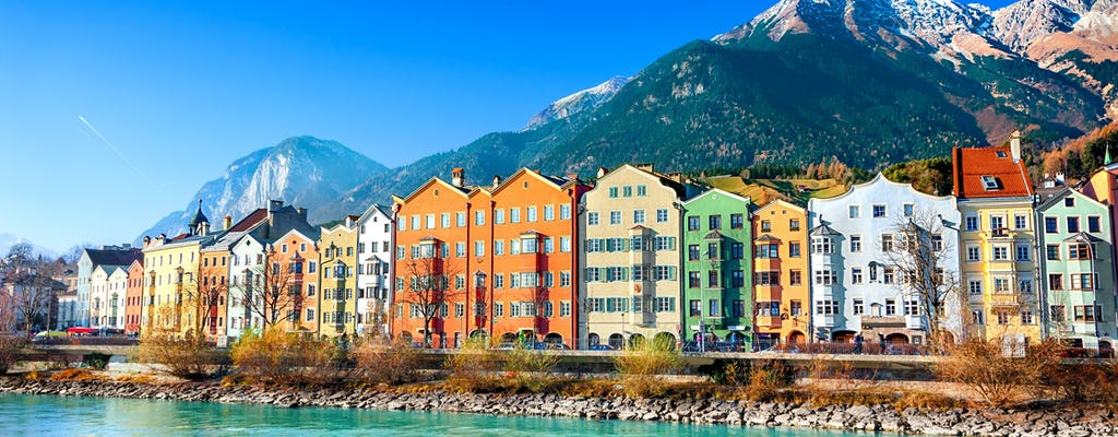 Private full-day tour of Olympic Innsbruck and the Crystal World in Wattens from Salzburg