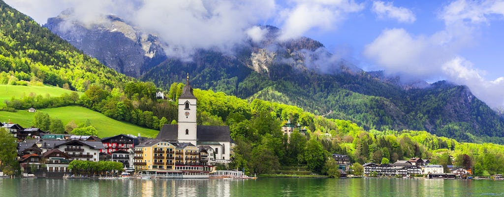 Private half-day trip to the Lake District, St Wolfgang and St Gilgen from Salzburg