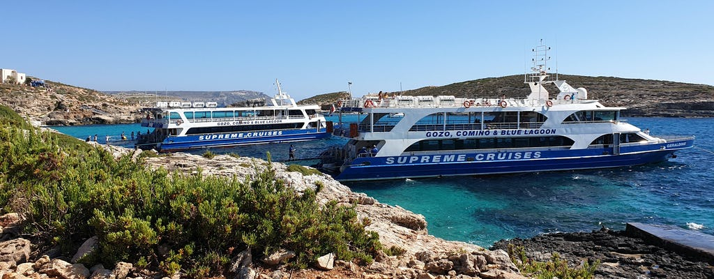 Comino & Blue Lagoon Cruise