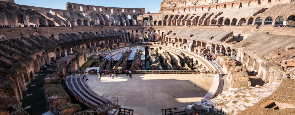 Tour of the Colosseum with access to the arena floor