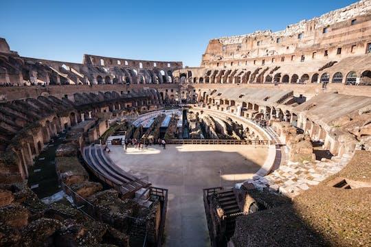 Passeio pelo Coliseu com acesso ao piso da arena