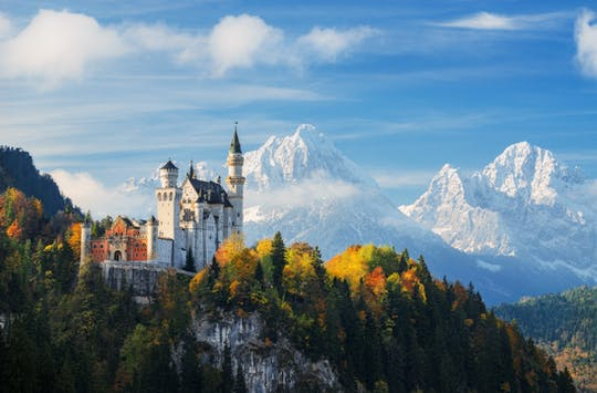 Private full-day tour to Bavarian royal castles from Salzburg