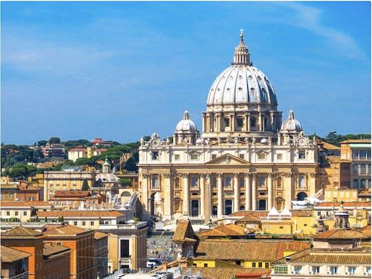 Experiência VIP do Vaticano com acesso antecipado