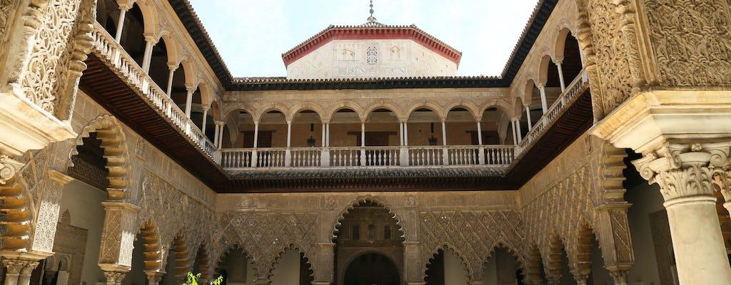Visita guiada al Alcázar de Sevilla con entradas de acceso prioritario
