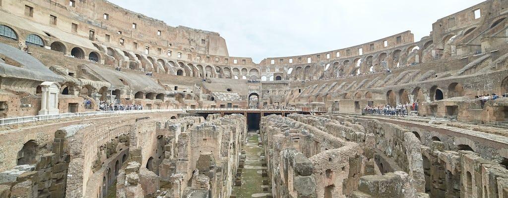 Tour della Roma antica con i sotterranei del Colosseo