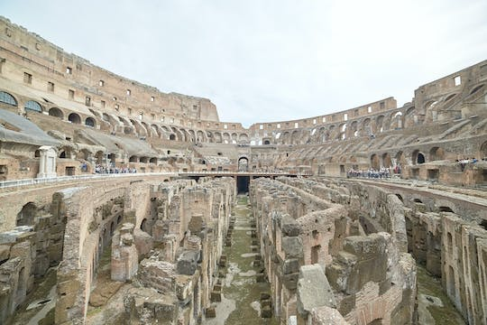 Ancient Rome tour with Colosseum underground