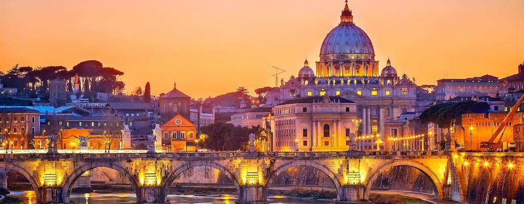 Vaticaan 's nachts rondleiding