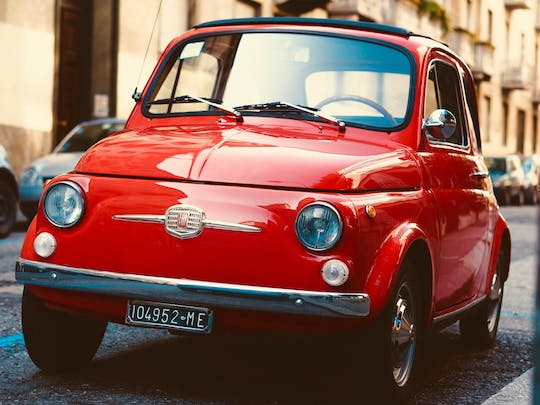 Vintage Fiat 500 experience in Rome