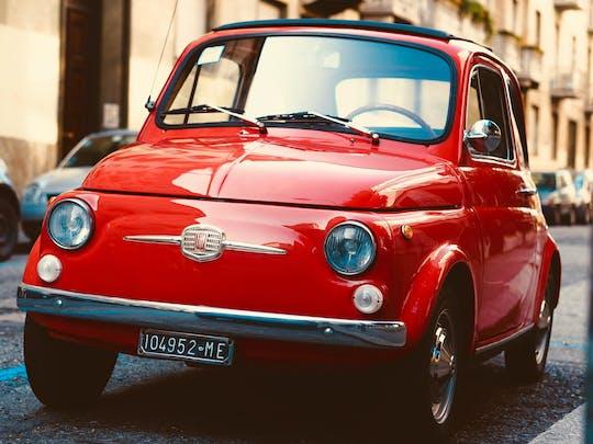 Experiencia vintage Fiat 500 en Roma