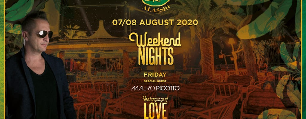 Le Vele Weekend Nights W- Mauro Picotto 07 - 08 August 2020