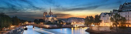 Tickets for Eiffel Tower summit and river cruise by night