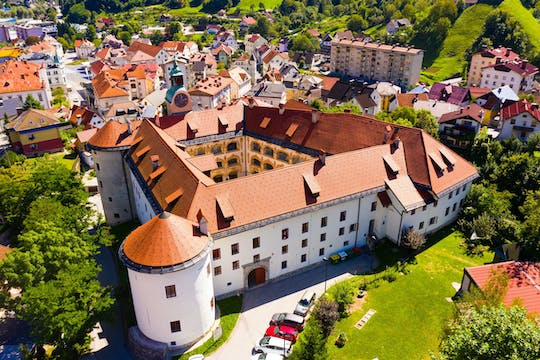 Idrija coal mine and lace private tour with castle and dining experience