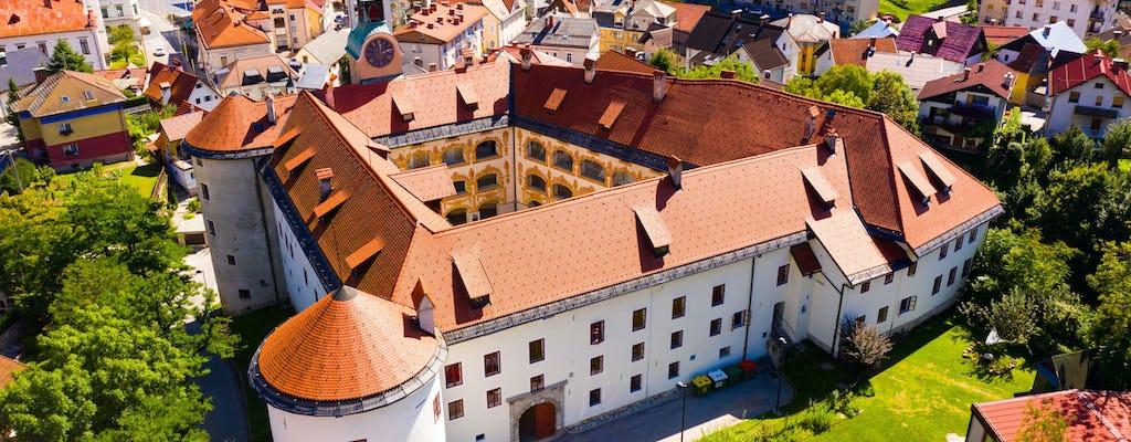 Kopalnia węgla Idrija i wycieczka koronkowa z obiadem w zamku z Bled