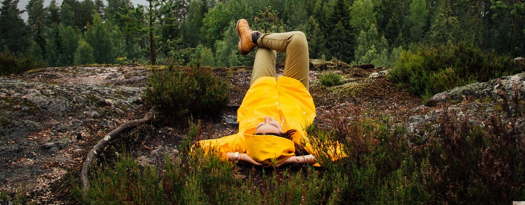 Caminhada aventura de verão de Auttiköngäs