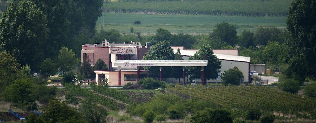 Prywatna degustacja wina w winiarni Afuzov dla dwojga