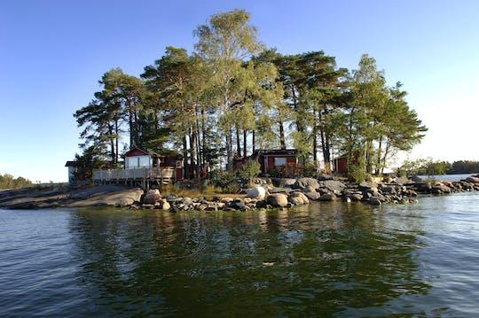 Expérience en bateau semi-rigide dans l'archipel d'Helsinki