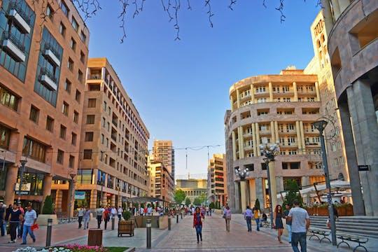 Visite architecturale d'Erevan