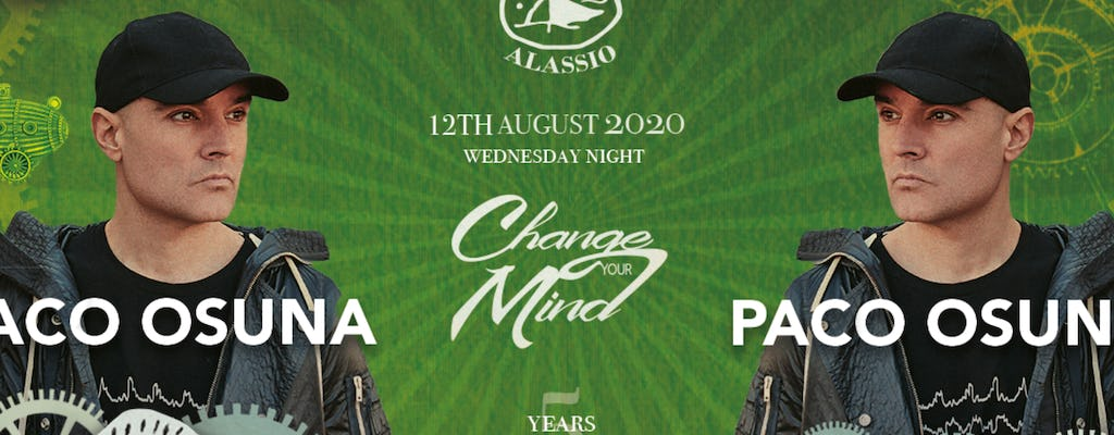 Change Your Mind W- Paco Osuna Le Vele Alassio 12th August 2020