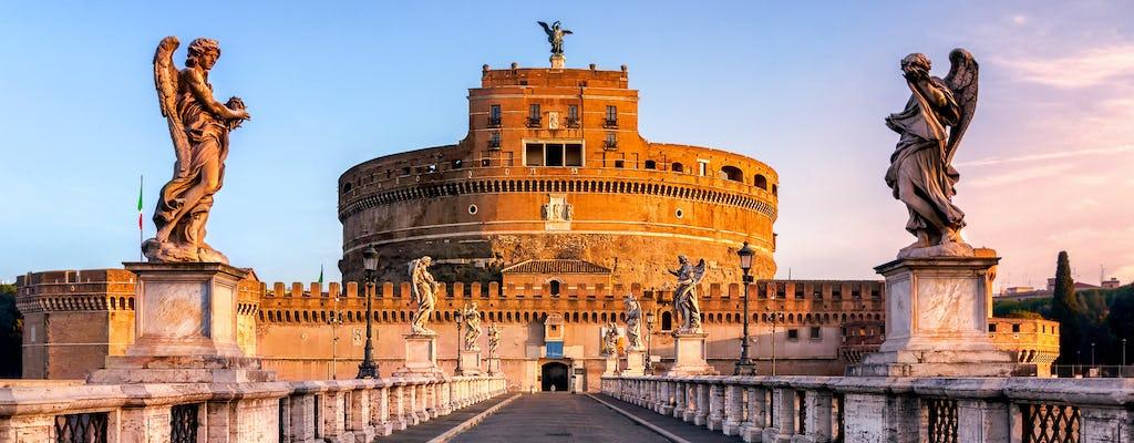 Tour autoguiado de áudio pelo Castel Sant'Angelo