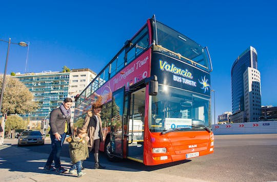 Valencia touristic bus 48-hours