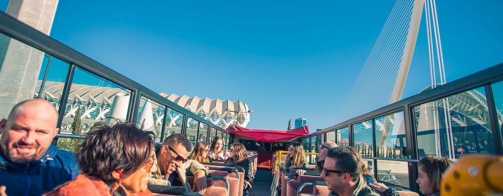 Autobus turistico di 48 ore a Valencia e biglietti per l'Oceanografic