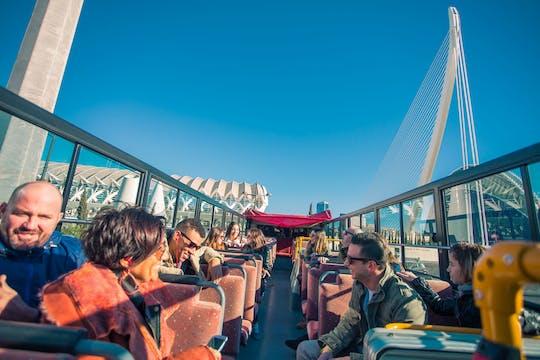 Valencia 48-hour tourist bus and Oceanografic tickets