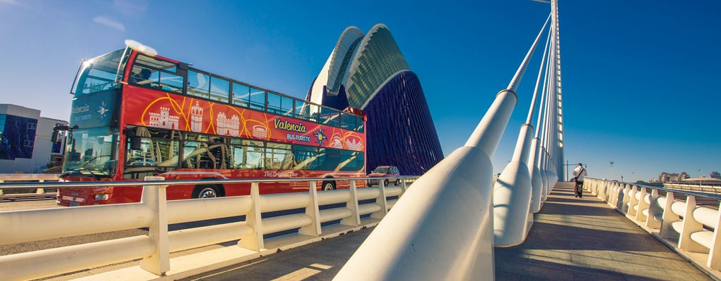 Essential Valencia 48-hour touristic bus tour