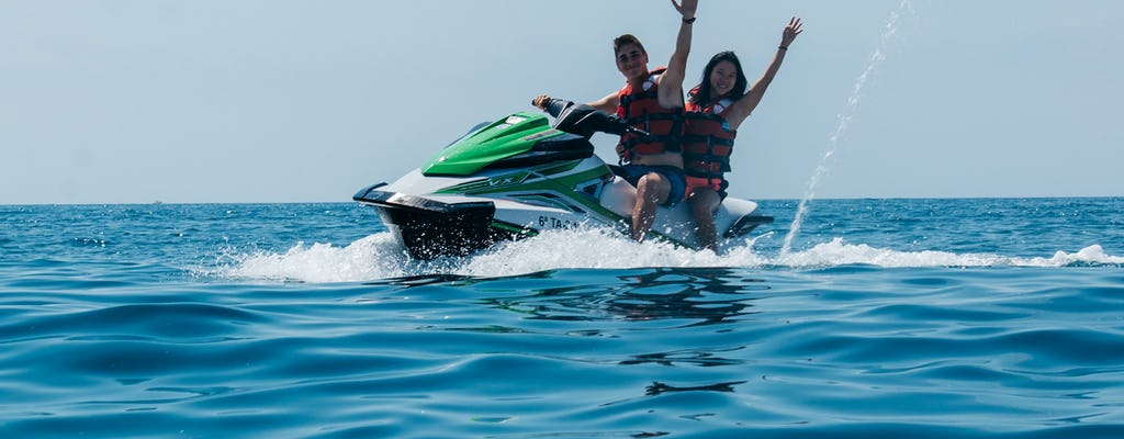 Jet-Ski-Fahrt in Salou Marina