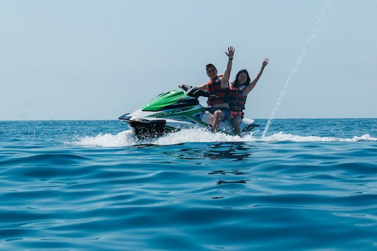 Jet-ski ride in Salou Marina