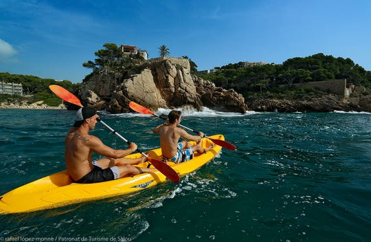 Kayak rental in Salou