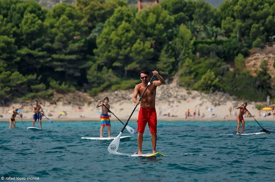 Paddle surf rental in Salou