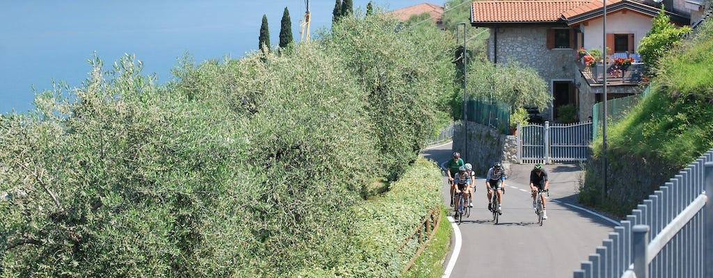 Bike tour personalizzato del Lago di Garda con noleggio opzionale