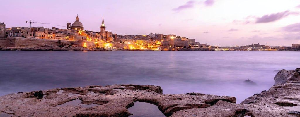 Malta bei Nacht