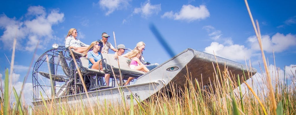 Airboat tour of the Everglades National Park