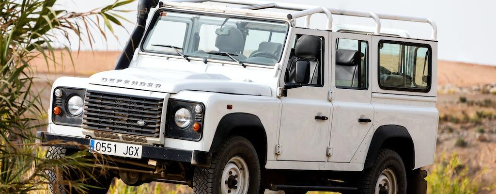 Geländewagen-Safari