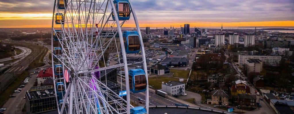Skywheel of Tallinn MUMM VIP-Erfahrung
