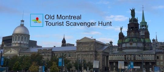 Alte Montreal Touristen Schnitzeljagd