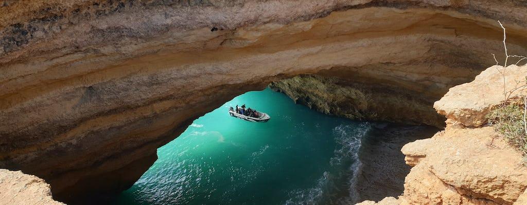 Rejs statkiem na plaże i jaskinie Benagil