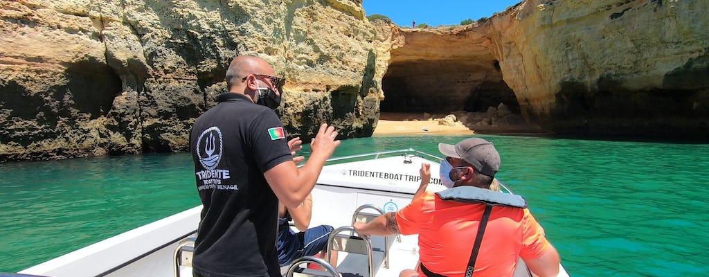Prywatna wycieczka łodzią do jaskiń Benagil