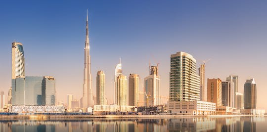 Burj khalifa ticket with one way private transfer